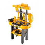 Set de constructie - Banc de lucru pentru copii cu unelte si scule - Atelierul cu scule