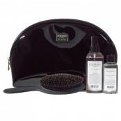 Set pentru par Balmain Black Leather Pouch Limited Edition