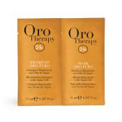 Set pentru par Oro Therapy Oro Puro Illuminating