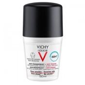 Vichy Deodorant roll-on Homme cu efect anti-urme, eficacitate 48h