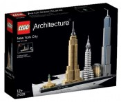 LEGO ARCHITECTURE, New York, 21028, 12+