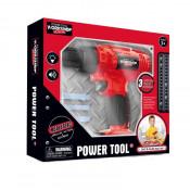 Bormasina Power Tool cu accesorii, sunete si vibratii
