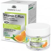 Crema antirid pentru fermitate 40+ Vitamin C Plus Cosmetic Plant