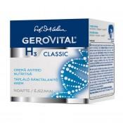 Crema nutritiva antirid de noapte Gerovital H3 Classic