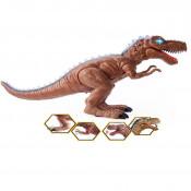 Dinozaur de jucarie care se misca, lumineaza si emite sunete realiste - Tyrannosaurus Rex