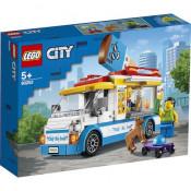 LEGO City Great Vehicles - Furgoneta cu inghetata 60253