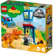 LEGO DUPLO Jurrasic World, Turnul lui T-Rex, 10880, 2-5 ani