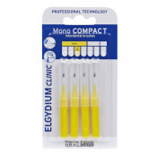 Periute interdentare Mono Compact Yellow, 4 bucati, Elgydium
