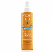 Spray pentru copii rezistent la apa cu SPF 50+ Vichy Capital Soleil 200 ml