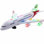 Avion de jucarie cu sunete si lumini Best Aircraft, 40 cm