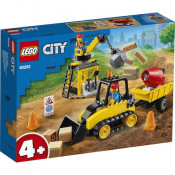 LEGO City Great Vehicles - Buldozer pentru constructii 60252