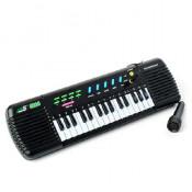 Orga electronica de jucarie, cu microfon si 32 clape, pentru copii