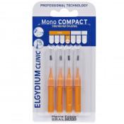 Periute interdentare Mono Compact Orange, 4 bucati, Elgydium