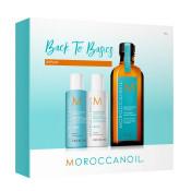 Set Moroccanoil Back To Basic Repair: Sampon 70 ml, Balsam 70 ml, Tratament 100 ml