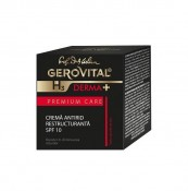 Crema antirid restructuranta SPF 10 Gerovital H3 Derma+ Premium Care