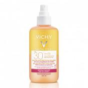 Apa de protectie solara antioxidanta cu SPF 30+ Vichy Capital Soleil