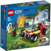 LEGO City Fire - Incendiu de padure 60247