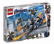 LEGO Super Heroes - Captain America: Atacul Outriderilor 76123