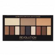 Paleta contur pentru ochi Makeup Revolution Ultra Eye Contour