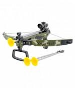 Set arbaleta Crossbow camuflage cu vizor inflarosu