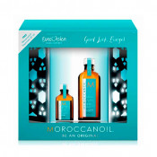 Set ulei tratament Light Moroccanoil Be An Original: 100 ml + 25 ml