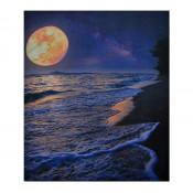 Tablou LED canvas Sunset cu leduri lumini 64 x 45 cm