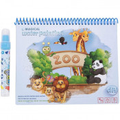 Carte De Colorat - Water Magic - Zoo