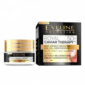 Crema anti-rid Eveline Cosmetics Royal Caviar Therapy 50+