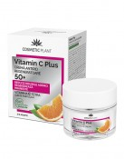 Crema antirid regeneratoare 50+ Vitamin C Plus Cosmetic Plant