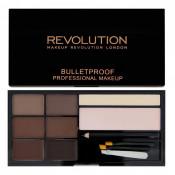 Kit pentru sprancene Makeup Revolution Ultra Brow