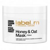 Masca pentru par Label.M Honey & Oat