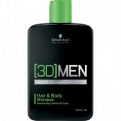 Sampon Schwarzkopf [3D]MEN Hair & Body