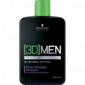 Sampon Schwarzkopf [3D]MEN Root Activator