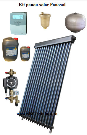 Kit pachet Panou solar Panosol Economic 2P fara boiler (C.304)