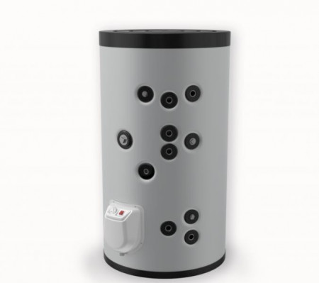 Boiler solar cu 2 serpentine si rezistenta electrica ELDOM 750 litri 12 kW (FV50080S2)