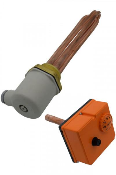 Rezistenta electrica cu termostat boiler WOODY - 3 x 7.5 kW