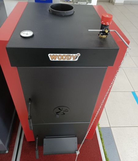 Centrala pe lemne, din otel, Woody SB/FC 35 kw