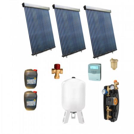 Pachet Panou solar Panosol 20 PERSOANE - FARA BOILER