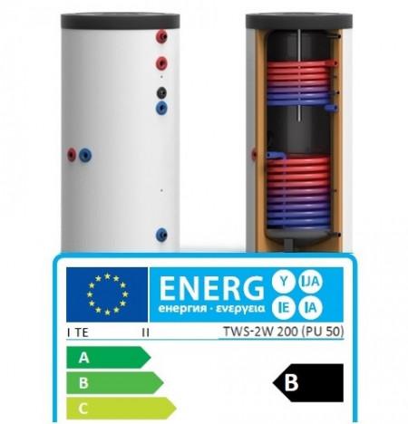 Boiler TWS-2W bivalent 400 L - TWS-2W 400 Germania