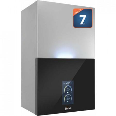 Centrala termica in condensare FERROLI BlueHelix MAXIMA 28 C incalzire 26 kW ACM 28 kW