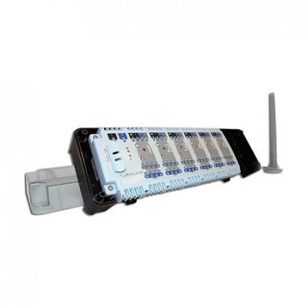 CENTRU DE COMANDA SIMPLU SALUS KL06RF 6 ZONE CU RADIO FRECVENTA