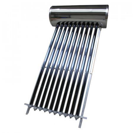 Panosol Panou solar presurizat compact cu 12 tuburi vidate heat pipe si boiler presurizat 150 litri Panosol PS150, cu suport TERASA INCLUS!