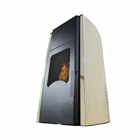 Termosemineu peleti Sontec Plus 13 - 13 Kw (Usa cu geam) - Burnit PM 13 - Royal 13KW