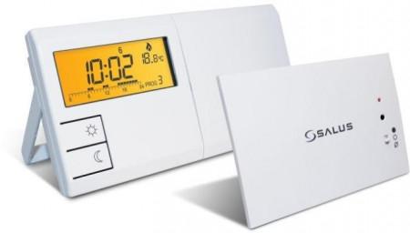 Cronotermostat de ambient Salus 091FLRF. 5 ani garantie