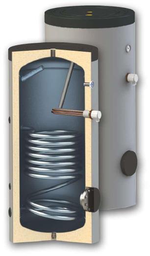 Boiler WOODY SN 150 - o serpentina cu 5 ani GARANTIE