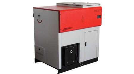 Cazan pe peleti LAFAT, SM ECO 100 kW + CADOU Termostat Ambient Q3RF