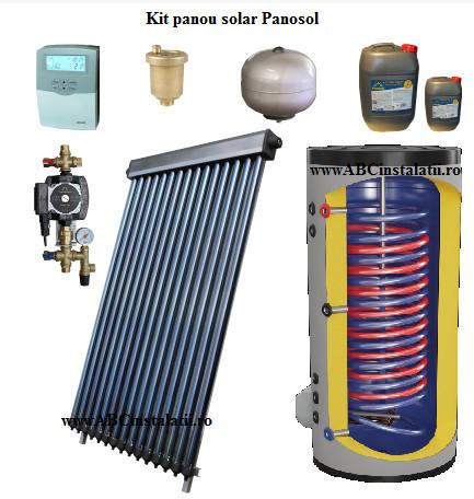 Kit pachet Panou solar Panosol Confort 6P Bivalent (C.202)