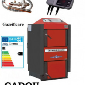 ATMOS DC18S - 20 Kw CU GAZEIFICARE + CADOU Supapa termica si Controler Pompa
