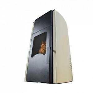 Termosemineu peleti Sontec Plus 18 - 18 Kw (Usa cu geam) - Burnit PM 18 - Royal 18KW