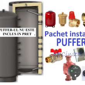 Pachet Instalare PUFFER 800 litri
